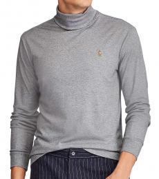 Ralph Lauren Boulder Grey Soft Turtleneck Pullover