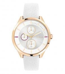 White Metropolis Watch