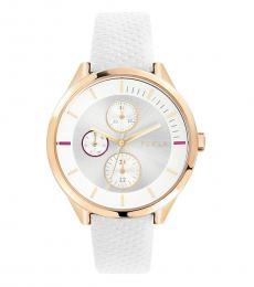 Furla White Metropolis Watch
