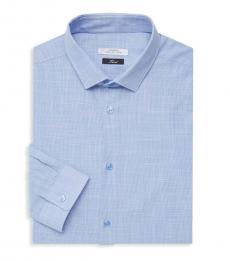 Versace Collection Light Blue Camicia Dress Shirt