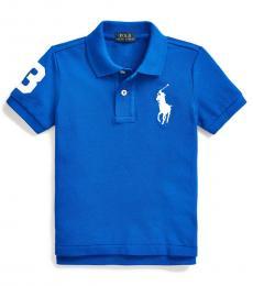 Ralph Lauren Little Boys Pacific Royal Big Pony Polo