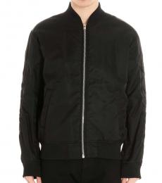Black K-Way Zipper Jacket