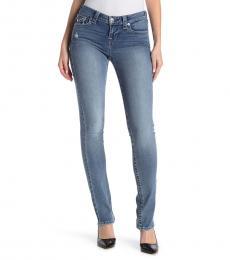 Denim Flap Pocket Mid Rise Jeans