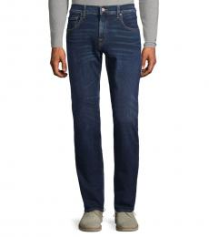 7 For All Mankind Euclid Classic Straight-Fit Jeans