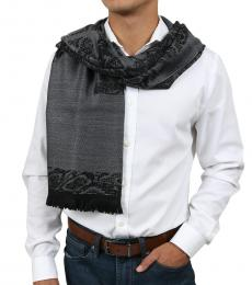 Grey Signature Scarf