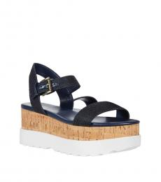 Michael Kors Dark Denim Marlon Sandals