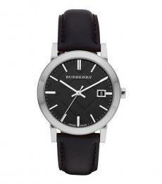 Burberry Black Check Dial Watch