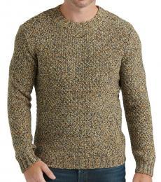Beige Marled Knit Sweater