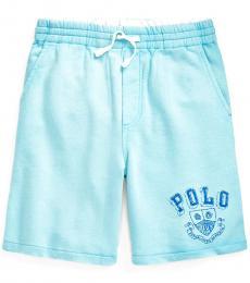 Ralph Lauren Boys Hammond Blue French Terry Shorts