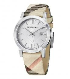 Burberry Multicolor Heritage Nova Check Watch