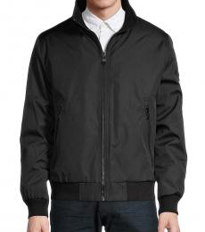Calvin Klein Black Bomber Jacket