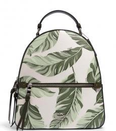 Coach Cargo Green Chalk Jordyn Medium Backpack