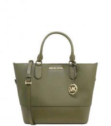 Michael Kors Olive Trista Medium Grab Bag