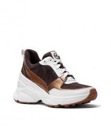 Michael Kors Chocolate Mickey Sneakers