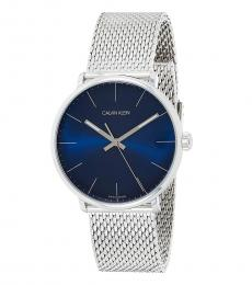 Calvin Klein Silver High Noon Watch