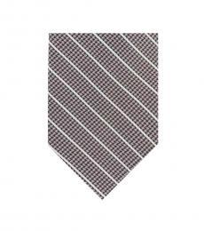 DKNY Grey Pillar Stripe Tie