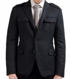 Prada Dark Grey Basic Jacket