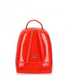 Furla Red Candy Mini Backpack