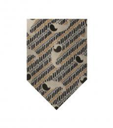 Dolce & Gabbana Beige Elegant Tie