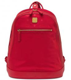 Red Logo Large Backpack