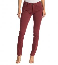 AG Adriano Goldschmied Tannic Red Prima Skinny Jeans