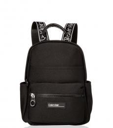 Black Vanessa Neoprene Small Backpack