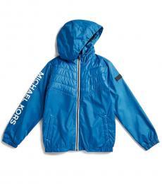 Michael Kors Little Boys Cobalt Hybrid Hooded Jacket