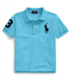 Ralph Lauren Little Boys Neptune Big Pony Polo