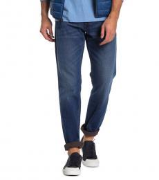 Diesel Blue Larkee Straight Leg Jeans