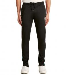 Black Spectral Logo Pants