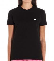 Chiara Ferragni Black Eye Graphic T-Shirt