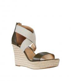 Michael Kors Olive Prue Wedges