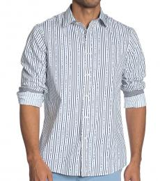 Midnight Broken Stripe Classic Fit Shirt