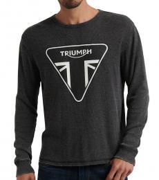 Lucky Brand Dark Grey Triumph Long-Sleeve T-Shirt