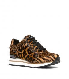 Michael Kors Leopard Print Billie Sneakers