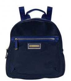 Calvin Klein Navy Belfast Dressy Medium Backpack