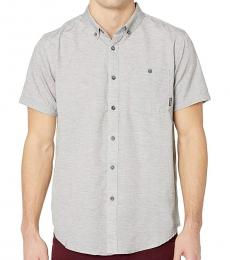 Light Grey All Day Woven Shirts