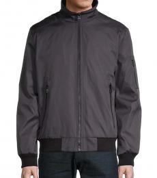 Calvin Klein Navy Blue Bomber Jacket
