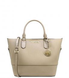 Michael Kors Truffle Trista Medium Grab Bag