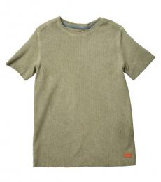 7 For All Mankind Boys Short Sleeve Thermal T-Shirt