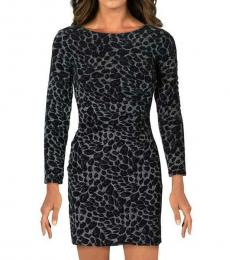 Black Embellished Party Sheath Dress