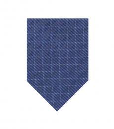 DKNY Blue Check Tie