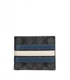 Coach Midnight 3 In 1 Signature Wallet