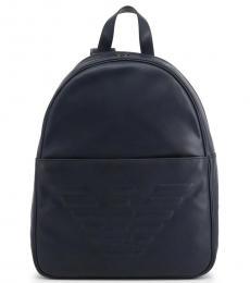 Blue Logo Large Backpack