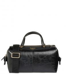 Emporio Armani Black Solid Medium Duffle Bag