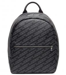 Black Signature Large Backpack