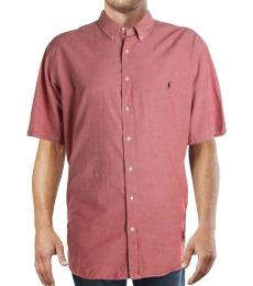 Ralph Lauren Rust Logo Casual Shirt