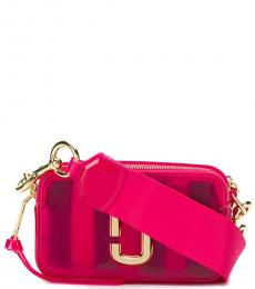 Marc Jacobs Pink Jelly Snapshot Small Crossbody