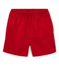 Ralph Lauren Baby Boys Red Chino Shorts