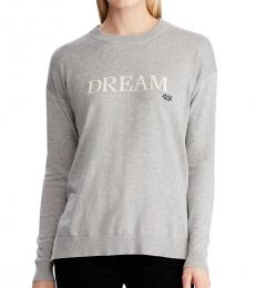 Grey Dream Cotton-Blend Sweater